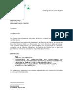 Formato de Carta de Solicitud (Convenios)