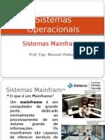 Aula 2 Sistemas Mainframes
