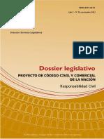 DOSSIER Legislativo A1N35 PCCYC de La Nacion Responsabilidad Civil