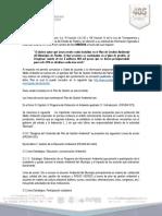 Solicitud de información folio 00035616, de la Secretaría de Desarrollo Urbano y Sustentabilidad (SDUS) sobre el Plan de Gestión Ambiental