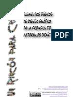 Elementos de diseño gráfico en la creación de materiales didácticos