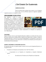 3 Poderes Guatemala e Impuestos Directos e Indirectos Todo en 6 Hojas