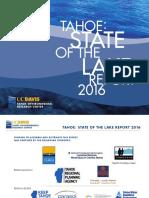 UC Davis report on Lake Tahoe