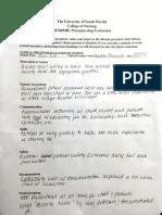 final assessment preceptorship
