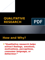 4b. Qualitative Research