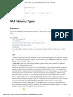 SAP Memory Types - SAP Memory Management (BC-CST-MM) - SAP Library