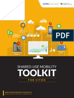 Shared-Use Mobility Toolkit for Cities