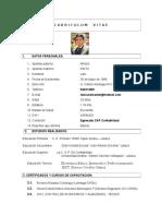 Curriculum Vitae Lalo Apaza