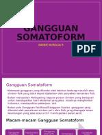 Gangguan Somatoform DAN DISOSIASI