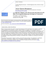 Baars, Kemper - 2008 - Management Support With Structured and Unstructured Data—an Integrated Business Intelligence Framework