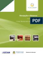 Apostila de Recepção e Reservas