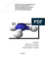 Exposición Del Amoniaco.