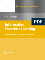 J.principe Entropy Learning