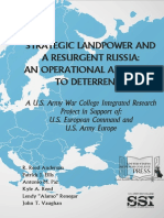 Strategic Landpower and a Resurgent Russia