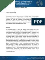 O Ensino de Engenharia e o Método PBL