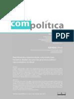 ITUASSU, AZAVEDO. Repolitizando a Representação- Uma Teoria Para Inciativas Digitais Em Prol Dos Processos Político-representativos No Brasil