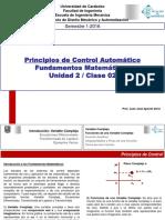 Clase II Principios de Control