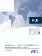 Reforming U.S. Export Controls Reforms