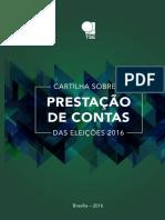 Cartilha Prestacao Contas Eleicoes 2016