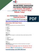 [2016.07.NEW]Cisco Exam 300-208 VCE Dumps 250q[21-30]
