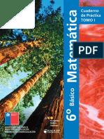 Cuadernillo 1 de Matemáticas 6 básico