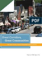 Great Corridors Great Communities