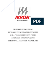 Filter Selection Guide-E