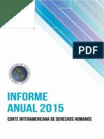 CIDH Informe Anual 2015