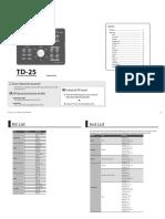 TD-25 SoundList e01 W