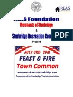 02 Summer Feast&Fire Summary Sturbridge Town Common