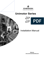 Unimotor Installation Manual Iss11