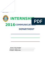Communication Manual 2016