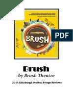 2014Festival Fringe BRUSH Review