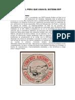 Empresas Del Peru Que Usan El Sistema Erp