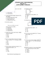 Soal Matematika Kenaikan Kelas SD Kls 3