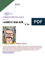 O Alfabeto Do Velho Oeste – Letra A