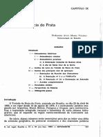 Tratado Da Bacia Do Prata (Importancia Do Rio Prata)