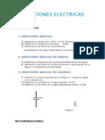 Mediciones Electricas Procedimientos y Recomendaciones