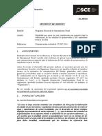047-15 - PRE - PROG. NAC. SANEAMIENTO RURAL - Penalidad Por Mora en Contratos Por Paquete (T.D. 6064276-2014)