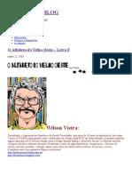 O Alfabeto Do Velho Oeste – Letra F, por Wilson Vieira.
