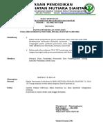 Surat Keputusan Panitia Ujian