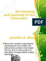 Reflect on Teaching and Learning in the Classroom