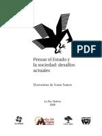 De SOUSA SANTOS, Boaventura. Pensar El Estado y La Sociedad