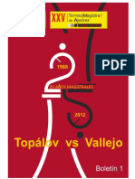 Xxv Torneo Magistral de Ajedrez 2012 (1)