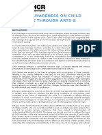 ToR Raising Awareness Through Art