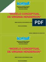 Modelo de Cuidados de Virginia Henderson