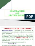 Heat Transfer & Heat Exchangers