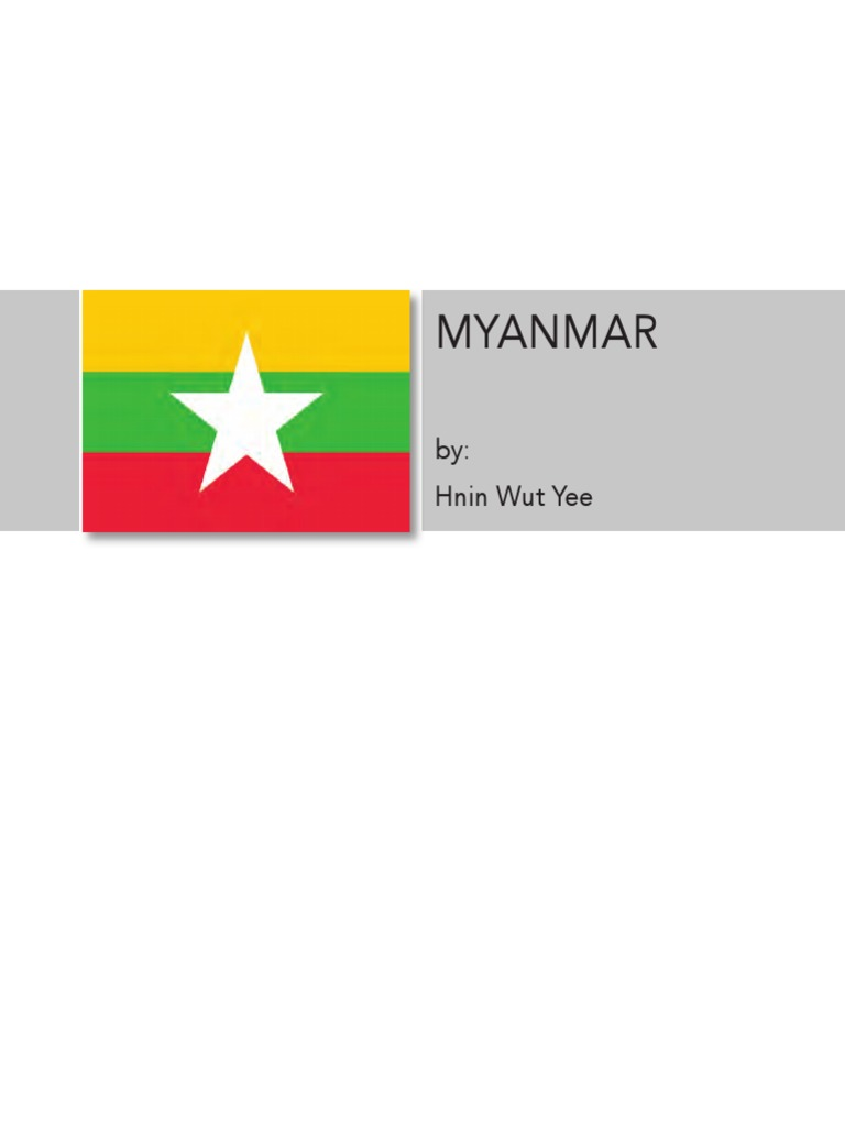 Country Report Myanmar | Partnership | Myanmar
