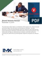 VALUES-Jhunel Antonio Roman