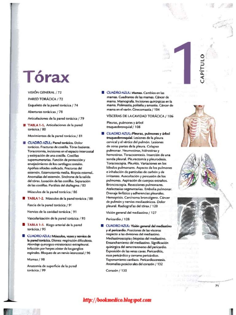 TORAX-Anatomia Con Orientacion Clinica Moore